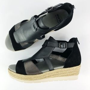 [EARTH]  Modena Espadrille Wedge Sandals NEW